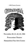 Godspell, November 20-23, 1985