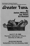 Greater Tuna, April 27-29, 2006 by Theatre Arts Discipline
