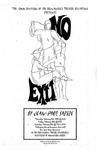 No Exit, February 11-13, 1999