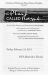 No Placed Called Home, February 24, 2012 by Theatre Arts Discipline