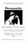 Personality, May 21-22, 1998