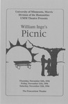 Picnic, November 10-12, 1994 by Theatre Arts Discipline