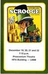 Scrooge, December 19-22, 1984 by Theatre Arts Discipline