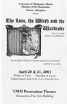 The Lion, the Witch and the Wardrobe, April 20-21, 2001 by Theatre Arts Discipline