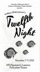 Twelfth Night, November 7-9, 2013