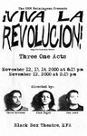 Viva La Revolucion, November 12-14, 2000