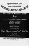 Meiningens Menagerie, April 22-23, 1996