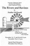 The Rivers and Ravines, November 16-18, 1995
