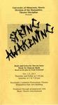 Spring Awakening, November 1-4, 2017