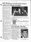 UMM Alumni Association Newsletter Vol. 7, No. 3 by University of Minnesota, Morris Alumni Association