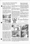 UMM Alumni Association Newsletter Vol. 10, No. 3 by University of Minnesota, Morris Alumni Association