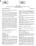 UMMRA Info: Volume XVII, Number 11