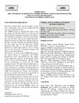 UMMRA Info: Volume XVI, Number 4 by University of Minnesota, Morris Retirees' Association