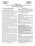 UMMRA Info: Volume XV, Number 1
