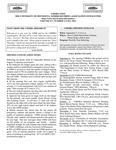 UMMRA Info: Volume XV, Number 2