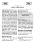 UMMRA Info: Volume XIII, Number 3