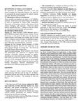 UMMRA Info: Volume X, Number 1