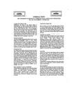UMMRA Info: Volume VIII, Number 3