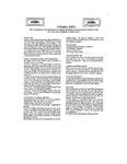 UMMRA Info: Volume VIII, Number 4