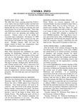 UMMRA Info: Volume VII, Number 3