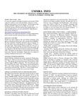 UMMRA Info: Volume VI, Number 3