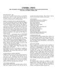 UMMRA Info: Volume VI, Number 4