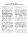 UMMRA Info: Volume V, Number 3