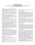 UMMRA Info: Volume V, Number 4