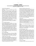 UMMRA Info: Volume VI, Number 2