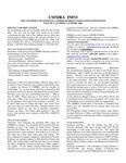 UMMRA Info: Volume V, Number 1