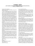 UMMRA Info: Volume V, Number 2