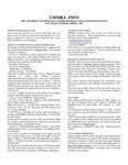 UMMRA Info: Volume III, Number 4