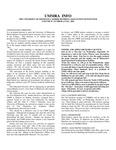 UMMRA Info: Volume IV, Number 2
