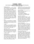 UMMRA Info: Volume III, Number 1