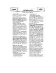 UMMRA Info: Volume 1, Number 4