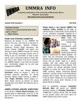 UMMRA Info: Volume XVIII, Number 2