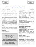 UMMRA Info: Volume XVII, Number 15 by University of Minnesota, Morris Retirees' Association