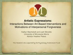 Interactions Between Art-Based Interventions and Motivations of Interpersonal Forgiveness by Kaitlyn Macheledt and Leah Monette