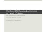 Academic Success and Christian Affiliation in College