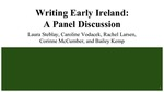 Writing Early Ireland: A Panel Discussion