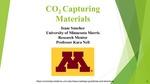 CO<sub>2</sub> Capturing Materials by Isaac Sanchez