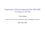 Conjunction of Factors Impacting the 2019-2020 Flu Season in the US by Yichen Wang