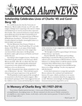 WCSA AlumNEWS: Fall 2014 by UMM Office of Alumni Relations and Annual Giving
