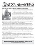 WCSA AlumNEWS: Spring 2014